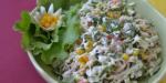 Крабовый салат с кукурузой и огурцом – Крабовый салат с кукурузой — очень вкусные классические рецепты